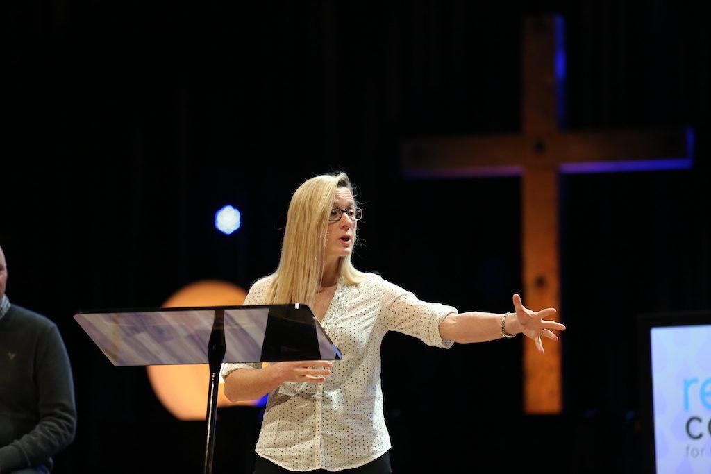 Kristin Speaking